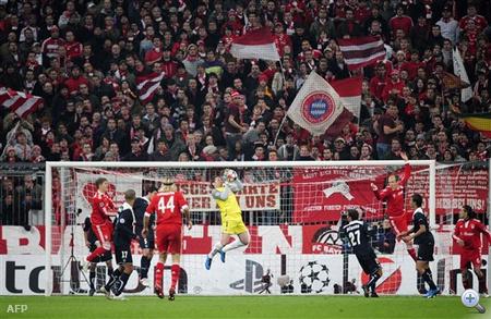 A kiesés szélén az otthon kikapó Bayern
