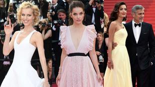 A 14 legszebb estélyi Cannes-ból