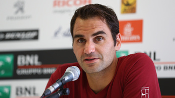 Zsinórban 65 Grand Slam után Federer nem indul a Roland Garroson