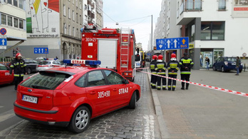 Őrizetben a feltételezett robbantó Wroclawban