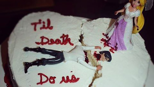 10 nagyon durva válási torta, jó étvágyat!