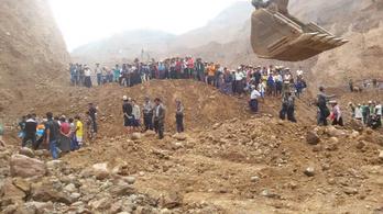 Földcsuszamlás volt egy mianmari jádekőbányánál, sokan meghaltak