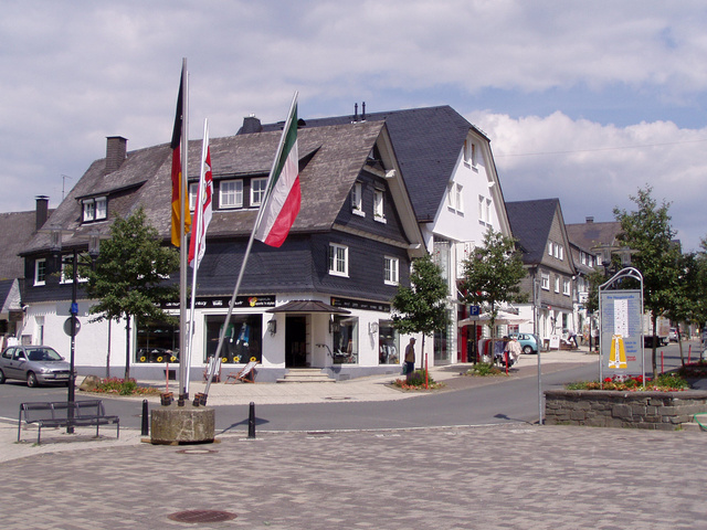 Egy hangulatos városka a kerékpárút mentén: Winterberg