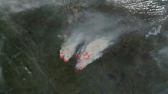 Európába ért a kanadai óriástűz füstje