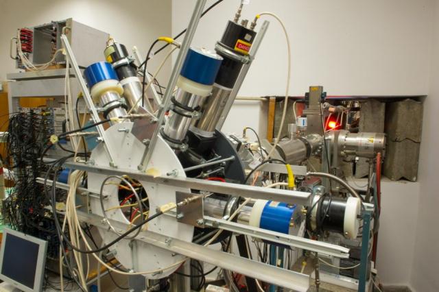 Elektron-pozitron spektrométer az Atomkiban