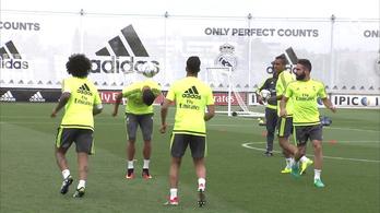 Lélegzetelállító önbizalommal készül a BL-döntőre a Real Madrid
