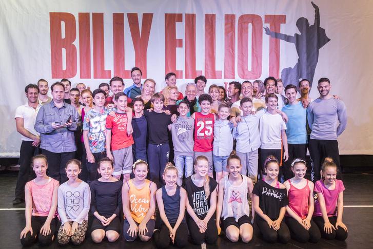 Billy Elliot - a Musical sajtótájékoztató