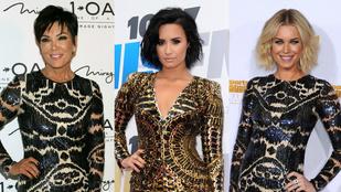 Csillogó ruhákra kaptak rá a celebnők