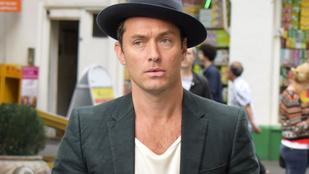 Indie zenésznek öltözött nyomozóként grasszált Jude Law Londonban