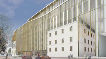 Gigantikus irodaház épül a Bem téren