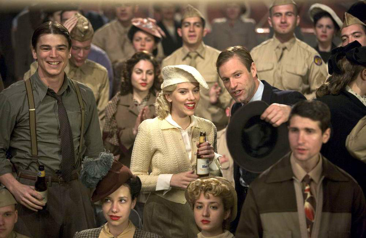 Josh Hartnett, Scarlett Johansson és Aaron Eckhart a Fekete Dália 2006-os hollywoodi feldolgozásában