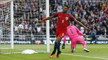 A csodagyerek Rashford első válogatott meccse 3. percében gólt lőtt