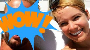 Ki ez a rejtélyes pasi Osvárt Andrea mellett?