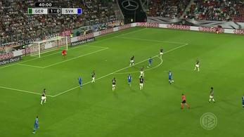 Ritkán kap ekkora gólt a világbajnok német válogatott