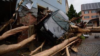 Áldozatokat szedett a vihar Németországban