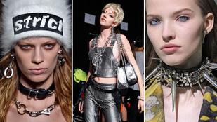 Nem kopnak ki a divatból a punk kiegészítők