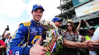 Véletlenül megnyerte a 100. Indy 500-at az F1-ből elzavart újonc