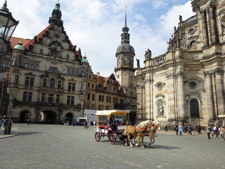 Villámstop Drezdában, ahol szeretik a magyarokat