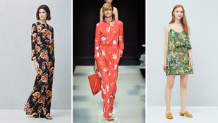 Szerezzen be egy virágmintás ruhát a nyárra!
