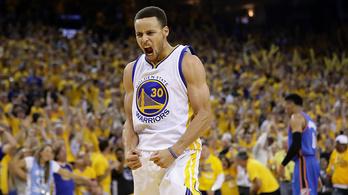 A Golden State megcsinálta, Curry bedobta, újra döntősök