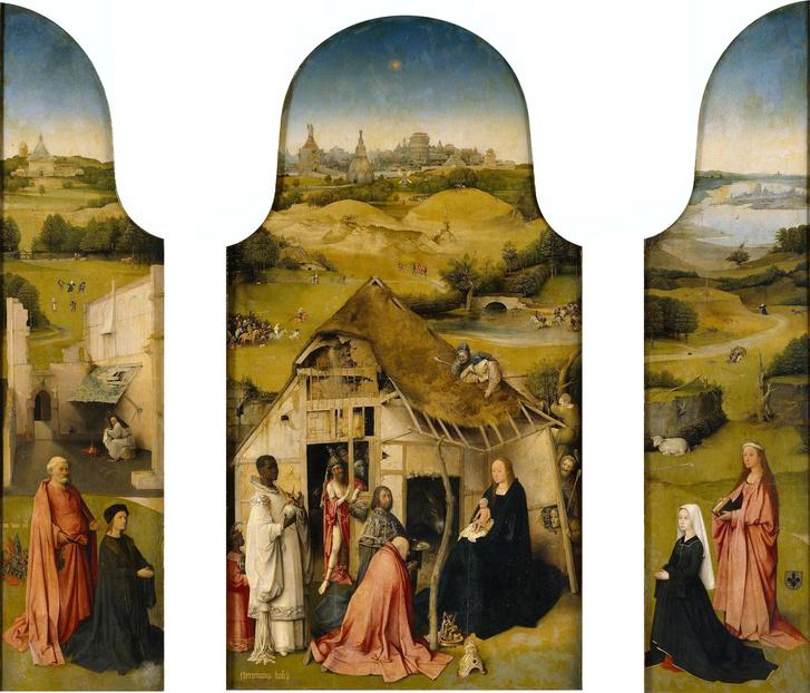Hieronymus Bosch: Királyok imádása