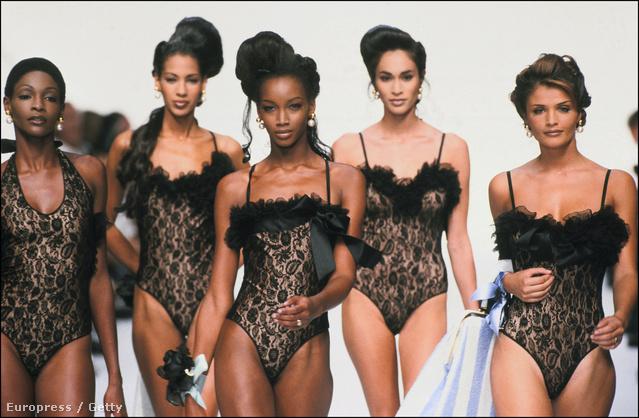A 90-es évek egyik legemlékezetesebb pillanata az 1992-es Dior haute couture shown volt.