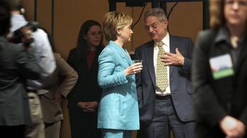 Soros György a Clinton-kampány második legnagyobb támogatója