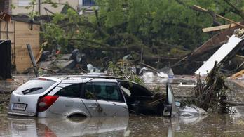 Többen meghaltak árvizek miatt Németországban