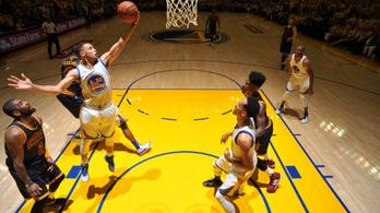 Curryék cseréi verték szét LeBronékat a döntő első meccsén