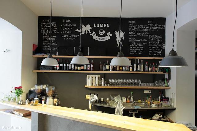 Lumen: kávézó, bisztró, borbár