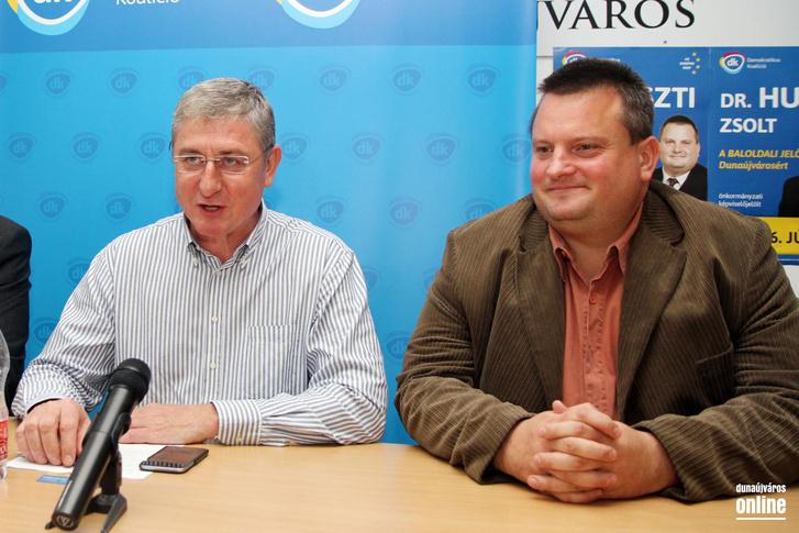 Gyurcsány Ferenc és Huszti Zsolt