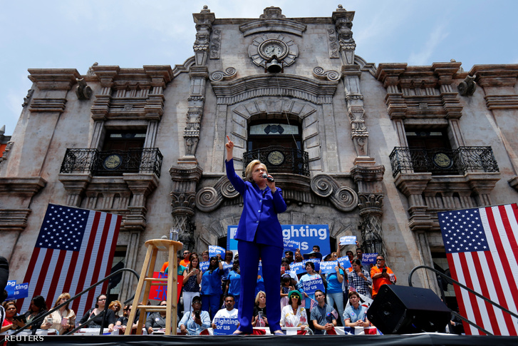 Hillary Clinton Lynwoodban