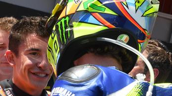 Rossi és Márquez kibékültek