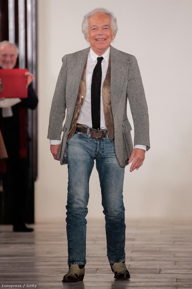 Ralph Lauren évtizedek óta öltözteti az amerikai középosztályt.