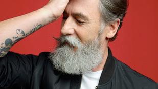 60 évesen, szakállnövesztés után lett divatmodell