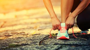 Az egészség nem a futásnál, hanem a kényelmes cipőnél kezdődik