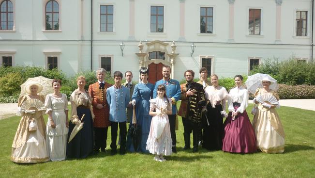 Koronázási hétvége a gödöllői kastélyban