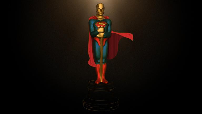Miért akar minden Oscar-nyertes szuperhős lenni?