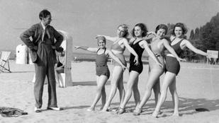 Ilyenekben fürödtek a Balatonon az ötvenes évekig