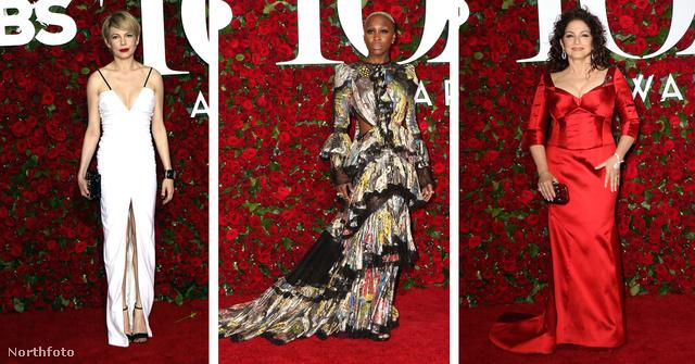 Michelle Williams, Cynthia Erivo és Gloria Estefan is megjelent a Tony Awardson.