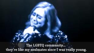 Adele elsírta magát a koncertjén, mikor az orlandói merényletről beszélt