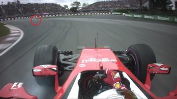 Vettel szörnyű pillanatokat élt át Montrealban