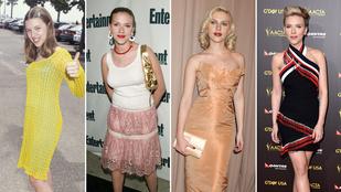 Ennyit változott Scarlett Johansson az elmúlt 20 évben