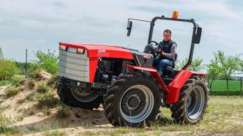 Íme az új magyar traktor: Renner