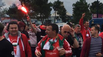 A magyar ultrák már a bordeaux-i stadionnál hangolnak
