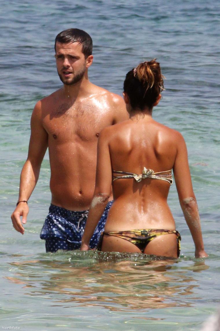 A Juventus futballistája strandol