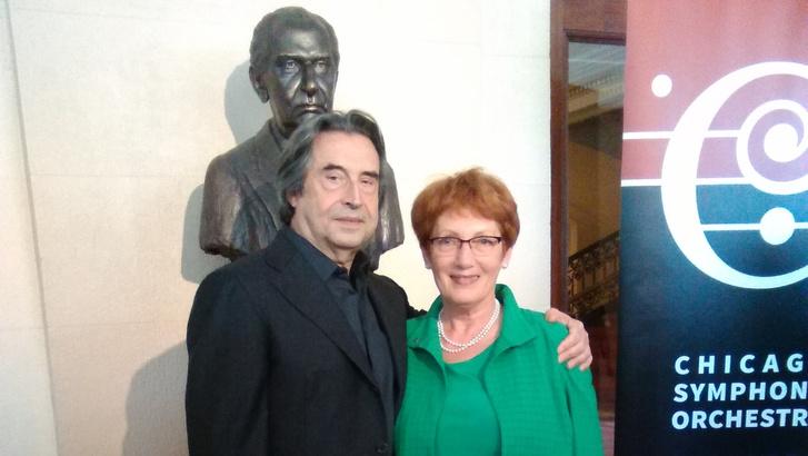 Riccardo Muti és Gerő Katalin