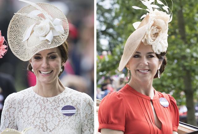 Katalin és Mária dán hercegné Ascotban futottak össze.