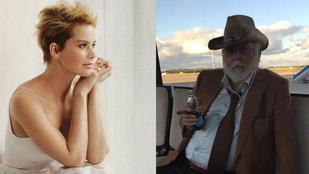Instahíradó: Andy Vajna még a reptéri kisbuszon is szivarozik