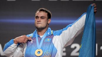Négy kazah olimpiai bajnok súlyemelő bukott doppinggal